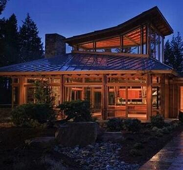 西雅图乡村小树林豪华木别墅