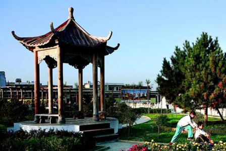 河北金融學院校園景觀
